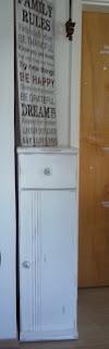 Schrank mit Kreidefarbe gestaltet