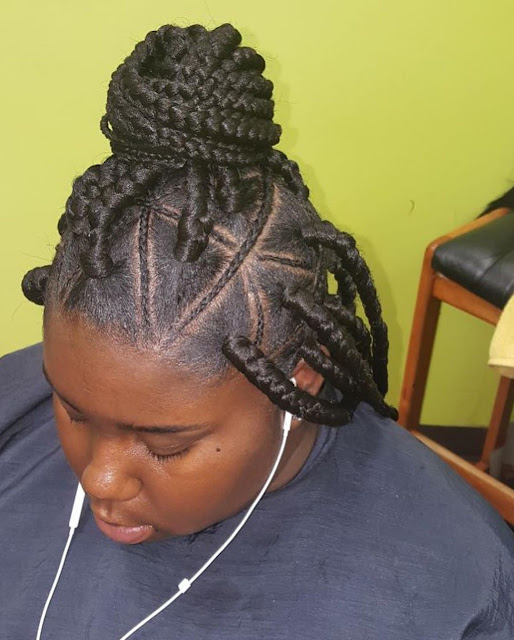 Fun African Braids that are in Vogue