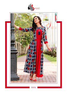 Kurtis wholesale: Sawan Shreya vol 1 | Party wear