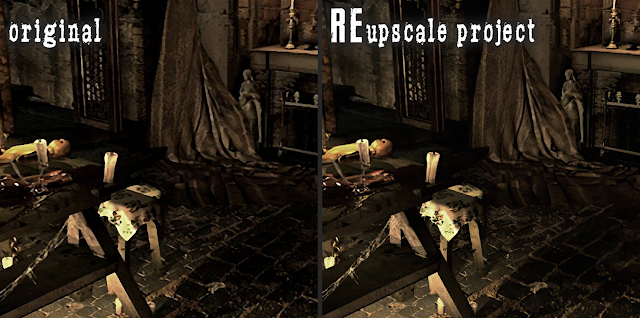 REupscale project | A Resident Evil HD Remaster Mod