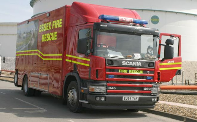Essex Fire and Rescue Truck