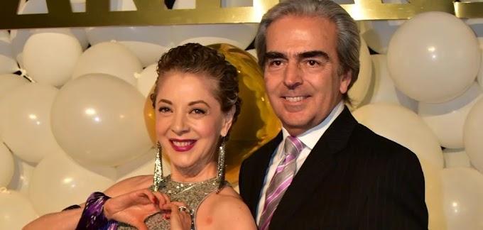 Lorenzo Lazo recuerda a su esposa la fallecida Edith González