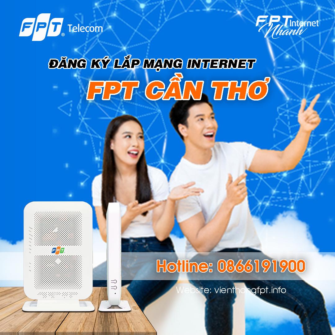 Đăng ký Intenret FPT tại Cần Thơ - Miễn phí Modem Wifi 4 Cổng