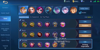 Hylos builds and embodies the most painful and strongest game in the mobile legends game
