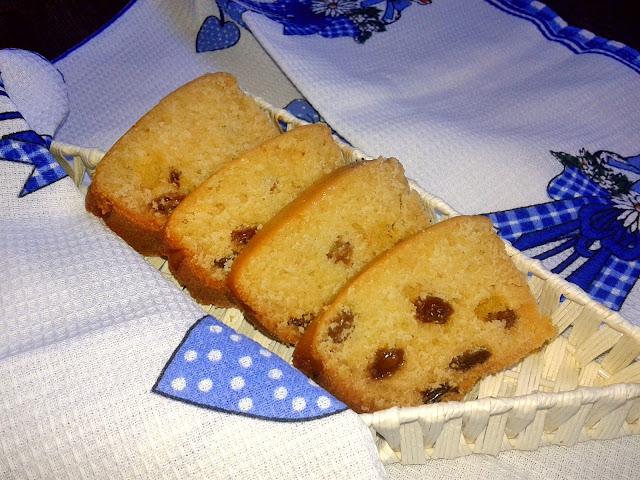 рецепт столичного кексу  з ізюмом випічка