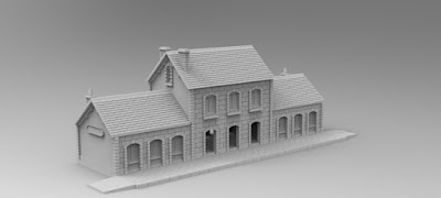 £1500 STRETCH GOAL RAILWAY STATION picture 1