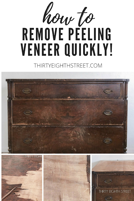 fix chipping veneer, how to fix veneer, peeling veneer, how to repair veneer