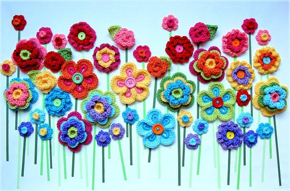 Bit Of Color Heerlijk Bloemen Haken