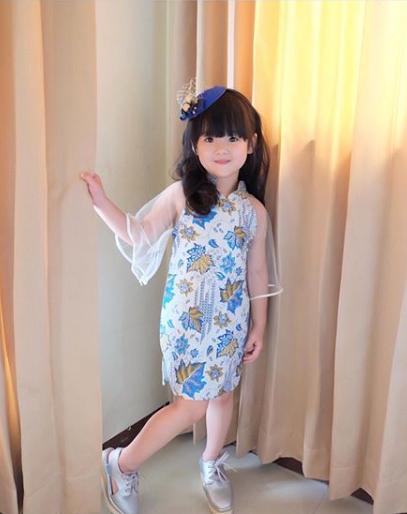 32 Model Baju Batik Anak Perempuan Terbaru Modern 2019 Terbaru9 Info