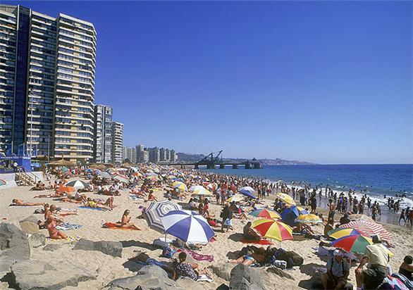 Praias em Viña del Mar