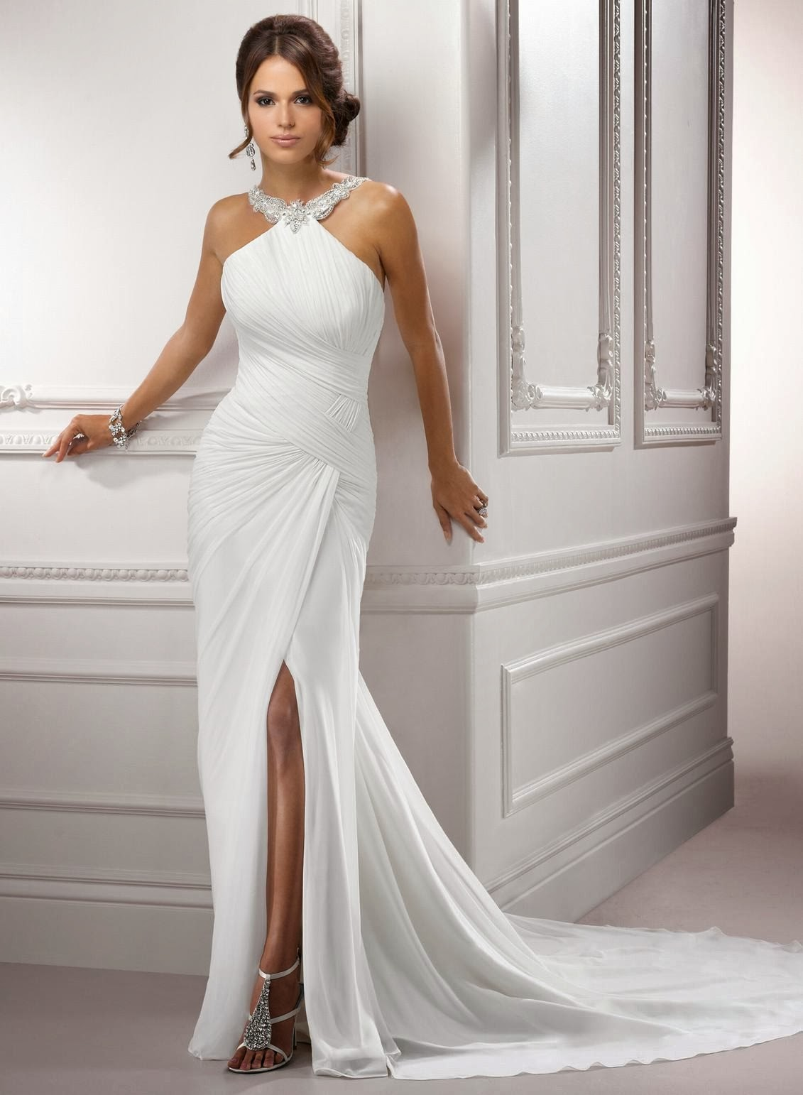 Luxury Short Bridal Gowns 2014 Illustration - Top Wedding Gowns ...