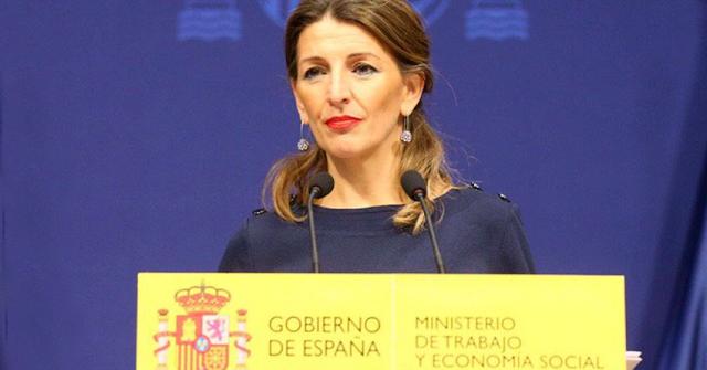 La ministra Yolanda Díaz anuncia una batería de medidas para proteger al mundo de la Cultura
