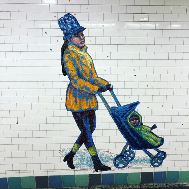 Fantastic Subway Art in NYC
