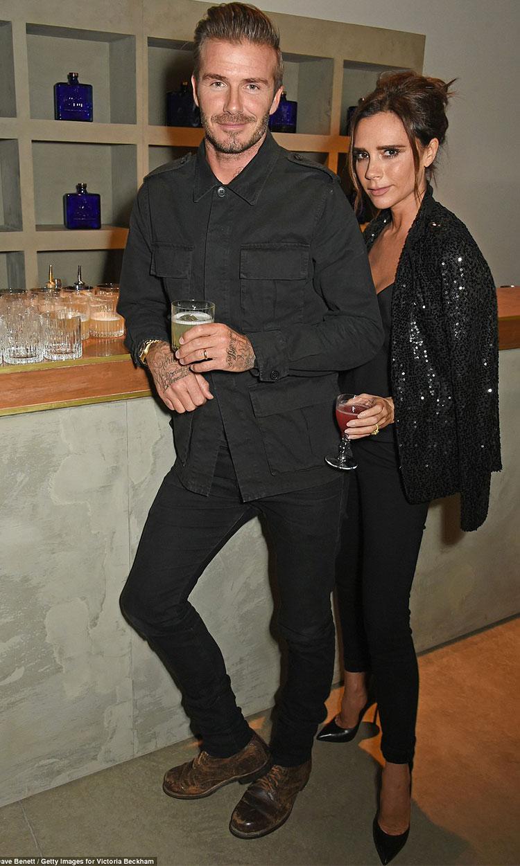David Beckham Victoria bechkam happy life