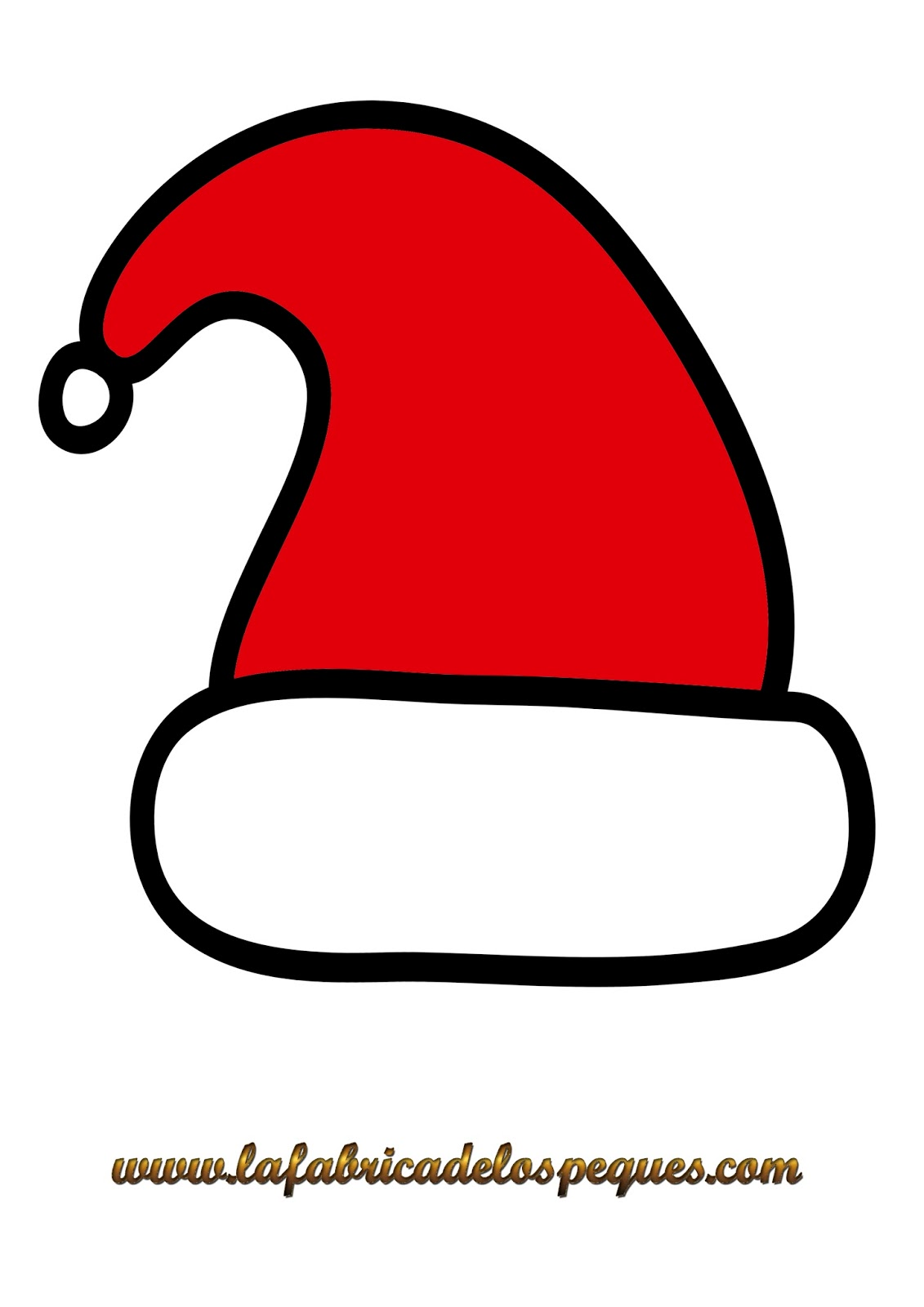 Imprimibles Y Plantillas De Navidad Gratis Gorros Calcetines Y