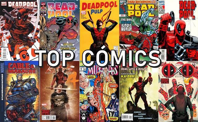 Cómics de Deadpool desde 1991 hasta 2020