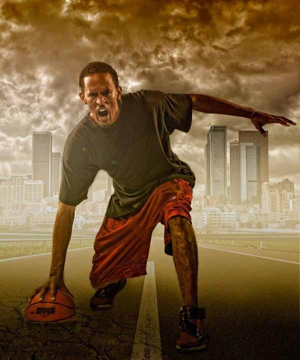 Photoshop Compositing Secrets: Create a Studio Sports Portrait