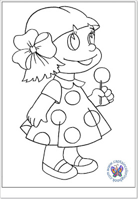 Sweet lollipop coloring page-6