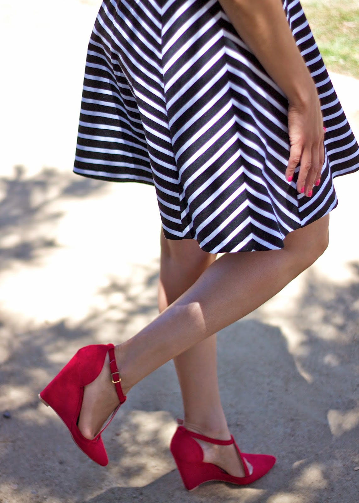 Charlotte Russe Red Shoes, Charlotte Russe red wedges, charlotte russe bogo