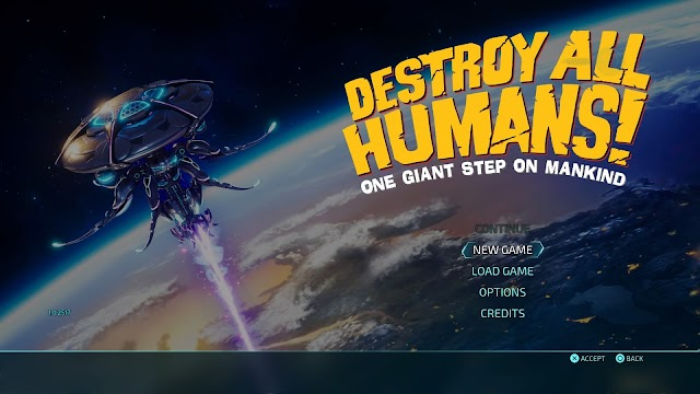 Destroy All Humans 1st impressions (PS4)