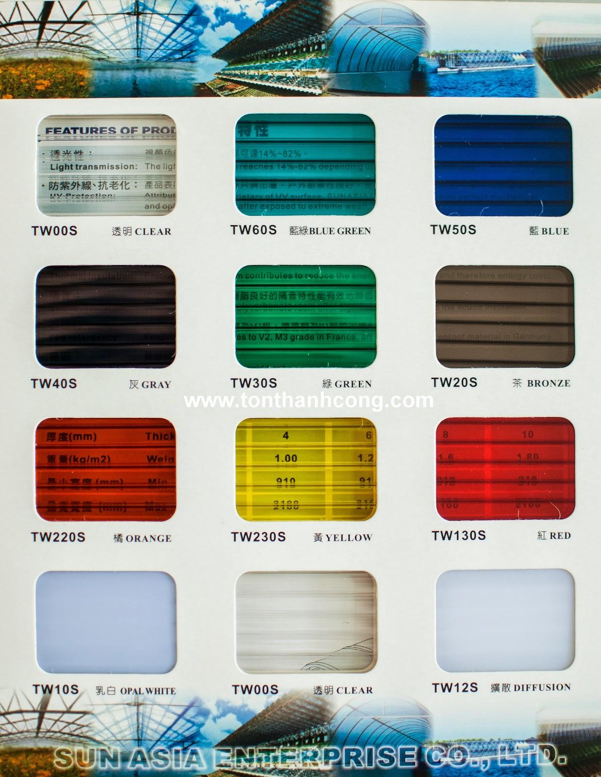 Tấm Lợp Lấy Sáng Polycarbonate Rỗng Ruột QueenLite - Trang 2