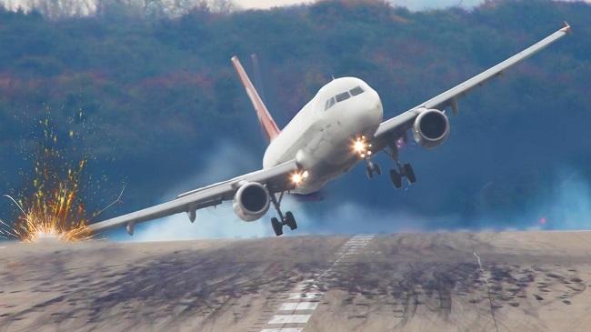 Aterrissagens de aviões