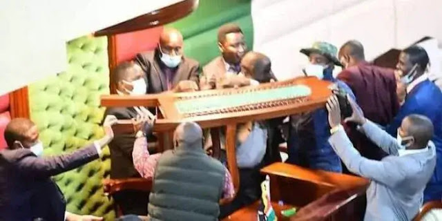 Nyandarua County Assembly  drama photo