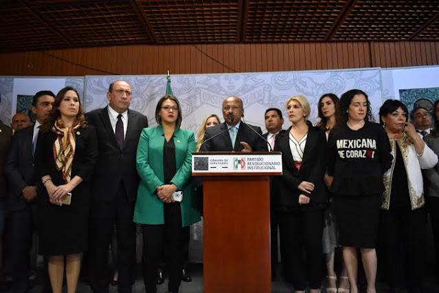 Rechaza PRI intento de intromisión del Ejecutivo Federal en decisiones del Poder Judicial, tras suspensión provisional de la reforma eléctrica