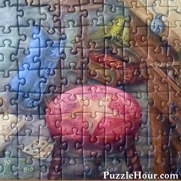star stool puzzle witches kitchen ravensburger jigsaw puzzle
