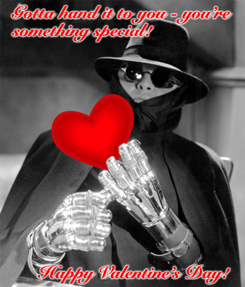 Valentine's Day greetings from Dr. Gogol, Mad Love (1935)