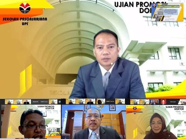 Rois Abdul Fatah Raih Gelar Doktor dari UPI dengan Disertasi Model Manajemen Pendidikan Karakter SMP Berbasis Boarding School