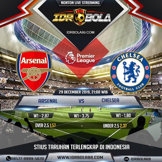 IDRBOLA -  Prediksi Bola Arsenal vs Chelsea 29 Desember 2019