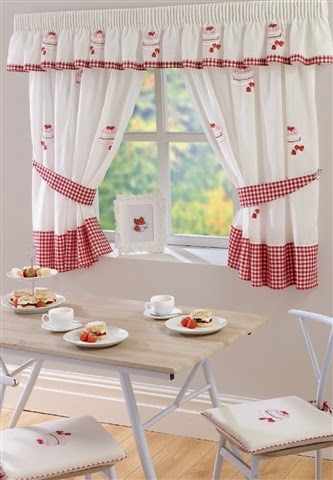 Strawberry Cake Curtains