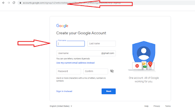 Gmail account without verification