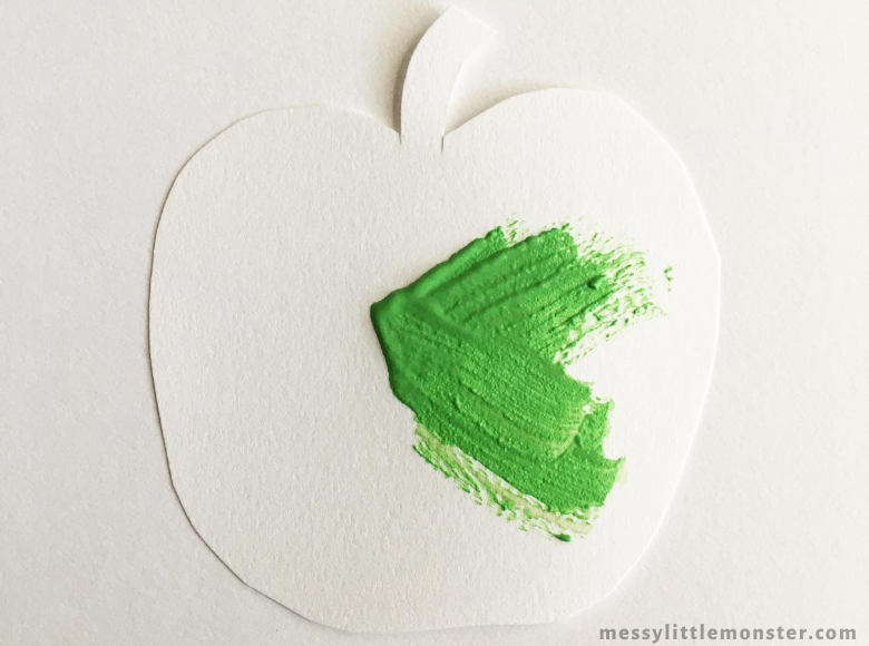 apple art for kids