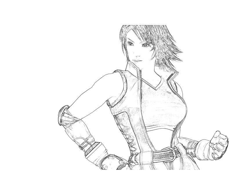 tekken 6 coloring pages - photo#4