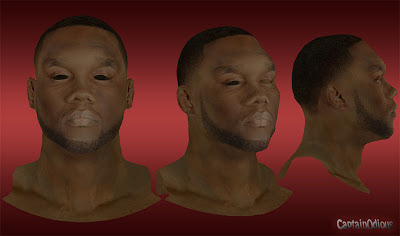 NBA 2K13 Al Jefferson Cyberface Mod