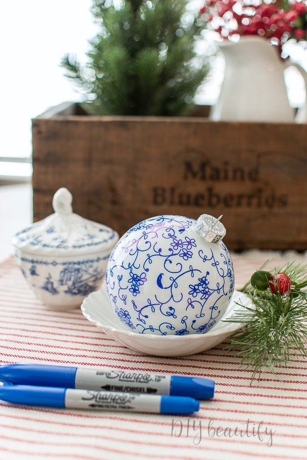 easy French farmhouse ornaments to make