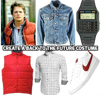 CREATE A BACK TO THE FUTURE 80s MOVIE COSTUME