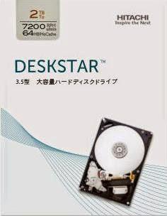 HITACHI Deskstar 0S03191 2TB SATA600 7200