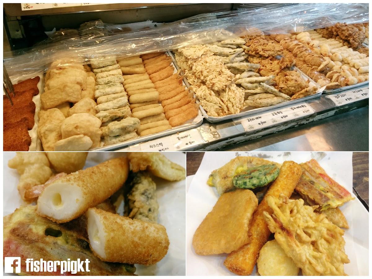 【初遊首爾】廣藏市場以外的傳統市場.孔德市場煎餅一條街.絕對是炸物天堂!
