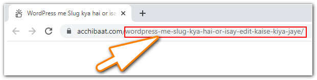 What is Slug in WordPress and how to edit it?