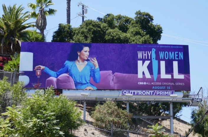 Why Women Kill Lucy Liu billboard