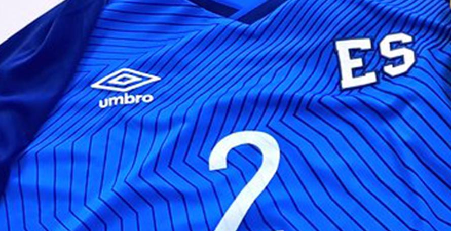 372a9e086eb Umbro have released the new El Salvador 2019 home and away kits. The home  kit was debuted in the 2-0 win over Jamaica