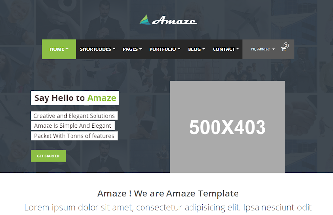 amaze template