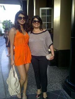 Priyanka Chopra & Madhu Chopra in New York