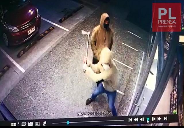 Video graba robo con violencia