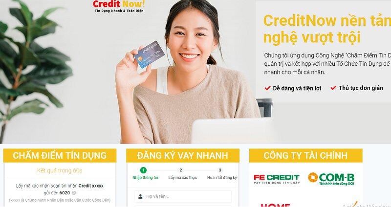 hướng dẫn vay tiền nhanh credit now