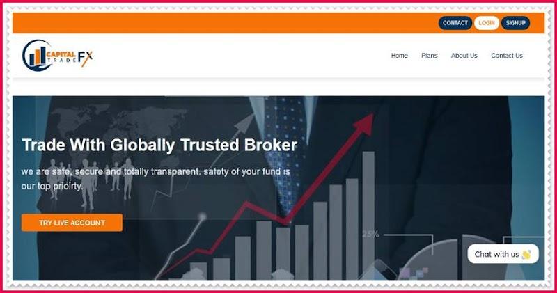 Мошеннический сайт capitalforextrade.com – Отзывы, развод, платит или лохотрон? Мошенники