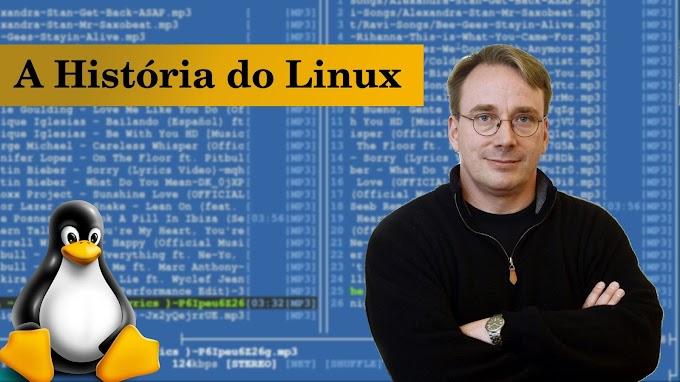 A origem/história do Linux